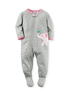 Carter's 1-Piece Snug Fit Cotton Footed Pajamas