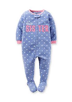 Carter's 1-Piece Fleece Footed Pajamas