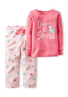 Carter's 2-Piece Cotton & Fleece Pajamas