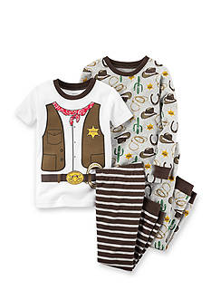Carter's 4-Piece Sheriff Pajama Set Toddler Boys