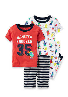 Carter's 4-Piece 'Monster Snoozer' Sleeper Set