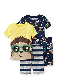 Carter's 4-Piece Snug Fit Cotton PJs Toddler Boys