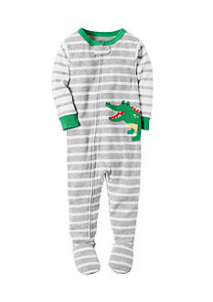 Carter's Alligator Zip-Up Sleep & Play Toddler Boys