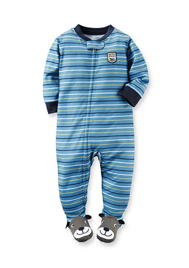 Carter's® Striped Footed Pajamas Toddler Boys