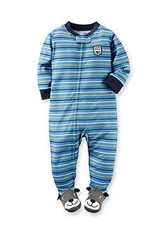 Carter's Striped Footed Pajamas Toddler Boys