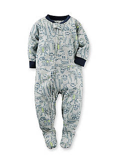 Carter's Alligator 1-Piece Footed Pajamas Toddler Boys