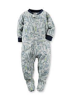 Carter's Alligator 1-Piece Footed Pajamas Toddler Boys