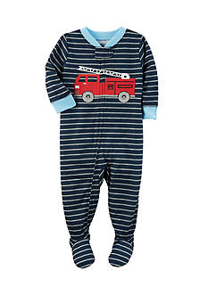 Carter's Firetruck Zip-Up Sleep & Play Toddler Boys