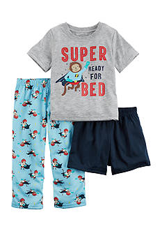 Carter's 3-Piece Jersey PJs Toddler Boys
