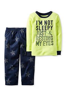 Carter's 2-Piece Cotton & Fleece Pajamas Toddler Boys