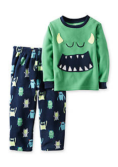 Carter's Toddler 2-Piece Monster Fleece Pajamas