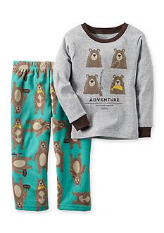 Carter's 2-Piece Bear Adventure Fleece Pajamas Toddler Boys