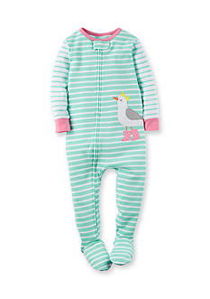 Carter's® Bird Stripe Sleep and Play Toddler Girls