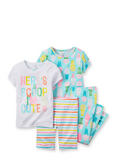 Carter's® 4-Piece Ice Cream Scoop Pajama Set Toddler Girls