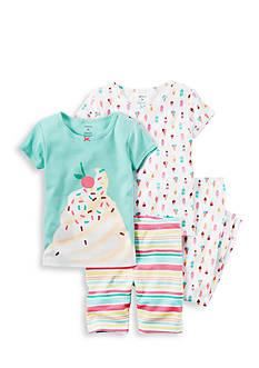 Carter's 4-Piece Sweet Treats Pajama Set Toddler Girls
