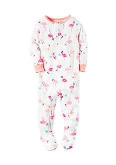 Carter's Flamingo Zip-Up Sleep & Play Toddler Girls