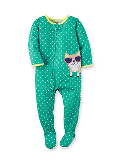Carter's® Dog Polka Dot Sleep and Play Toddler Girls