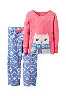 Carter's® 2-Piece Winter Owl Fleece Pajamas