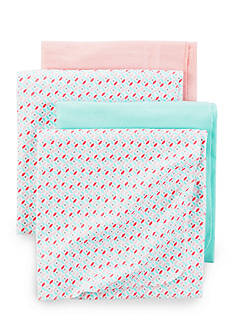 Carter's 4 Pack Pink Blossom Blanket Set