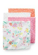 Carter's® 4 Pack Pink Floral Blanket Set