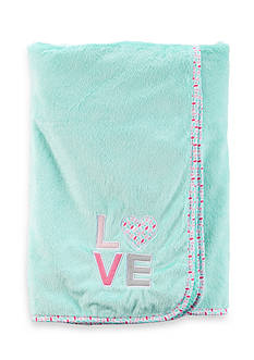 Carter's 'Love' Plush Blanket