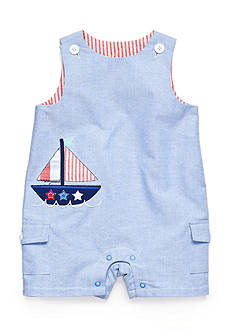Nursery Rhyme® Chambray Boat Sunsuit