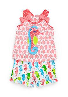 Nursery Rhyme® 2-Piece Sea Horse Top and Shorts Set