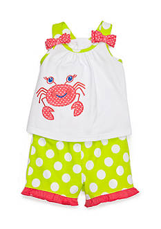 Nursery Rhyme® 2-Piece Crab Top and Short Set