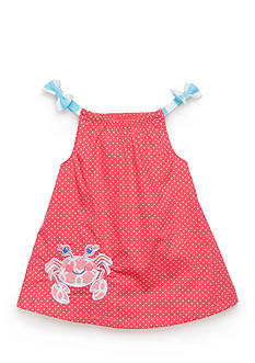 Nursery Rhyme® 2-Piece Crab Dress and Bloomer Set