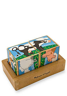 Melissa & Doug Wooden Farm Sound Blocks