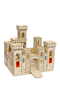 Melissa & Doug Folding Medieval Castle - Online Only