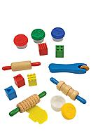 Melissa & Doug® Shape, Model and Mold Dough -