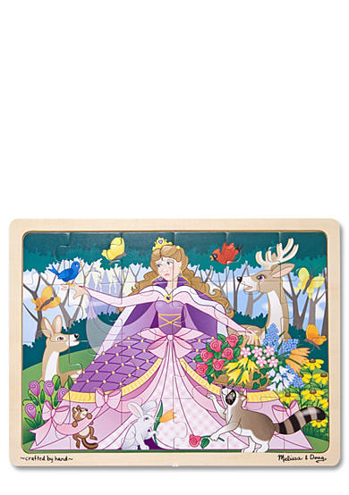 Melissa & Doug® Woodland Princess 24-Piece Jigsaw Puzzle - Online Only