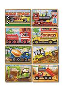 Melissa & Doug® Vehicle And Construction Box
