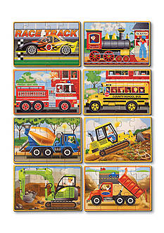 Melissa & Doug® Vehicle And Construction Box Bundle