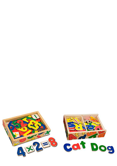 Melissa & Doug® Magnetic Letters & Numbers Bundle - Online Only