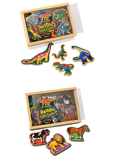 Melissa & Doug® Magnetic Animals & Dinosaurs Bundle - Online Only