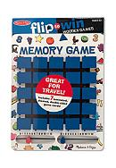 Melissa & Doug® Flip-To-Win Memory Game -