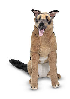 Melissa & Doug® Plush German Shepherd - Online Only