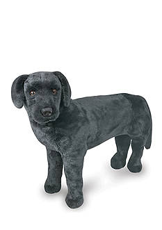 Melissa & Doug® Plush Black Lab - Online Only