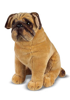 Melissa & Doug® Plush Pug Dog - Online Only