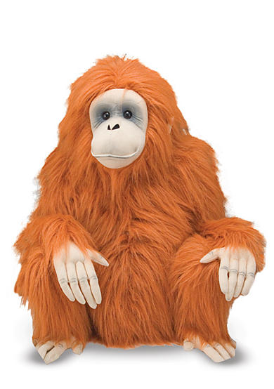 Melissa & Doug® Orangutan Plush Toy - Online Only