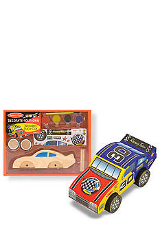 Melissa & Doug® Wooden Race Car - Decorate Your Own - Online Only