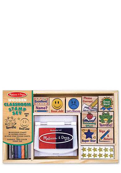 Melissa & Doug® Classroom Stamp Set - Online Only