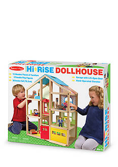 Melissa & Doug® Hi-Rise Dollhouse - Online Only
