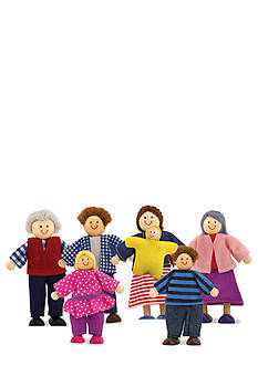 Melissa & Doug® Wooden Doll Family