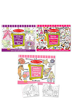 Melissa & Doug® Jumbo Multi Theme Coloring Pad