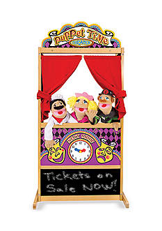 Melissa & Doug® Deluxe Puppet Theater - Online Only