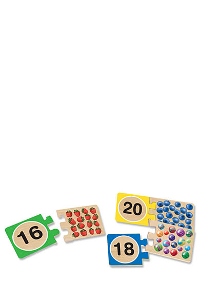 Melissa & Doug® Wooden Number Cards