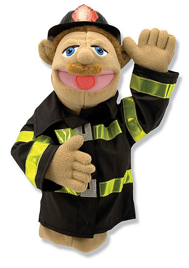 Melissa & Doug® Chief Walter Blaze, The Firefighter Puppet
